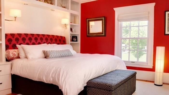 rotes schlafzimmer design eine kreative entscheidung - Hervorragendes Rotes Esszimmer Design