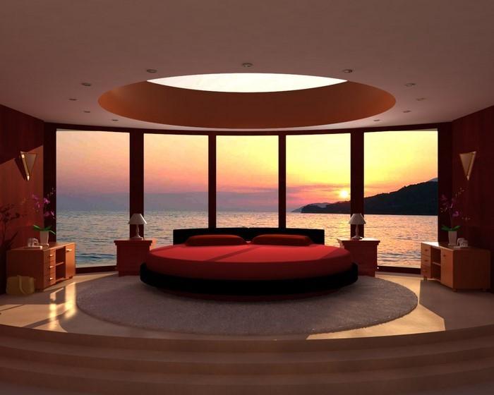 Rotes-Schlafzimmer-Design-Eine-kreative-Gestaltung