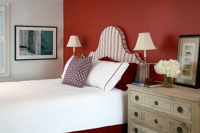 Rotes-Schlafzimmer-Design-Eine-super-Ausstattung