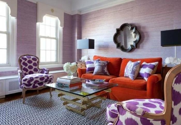 Schöne-Zimmer-Ideen-in-lila-Farbe