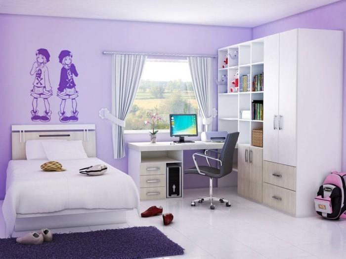 Schöne-Zimmer-Ideen-mit-Wandtattoos