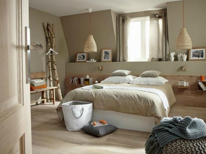 Schlafzimmer Deko Ideen Grau | Haus Design Ideen