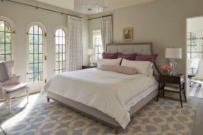 Schlafzimmer-Ideen-mit-Grau-Ein-modernes-Design