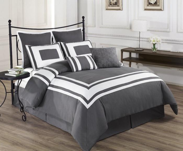 Schlafzimmer-Ideen-mit-Grau-Ein-tolles-Interieur