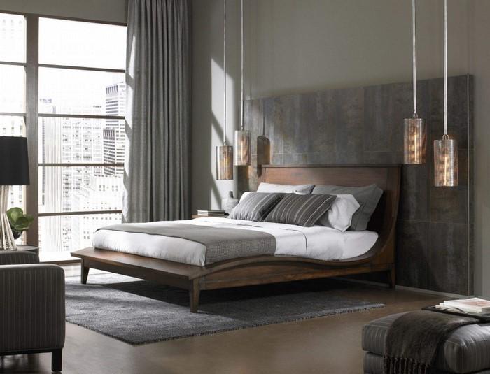 verblüffende schalzimmer ideen: 50 graustufen, Schlafzimmer design