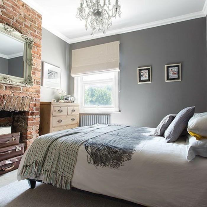 Schlafzimmer Einrichten Ideen Grau Schlafzimmer Modern Gestalten ...