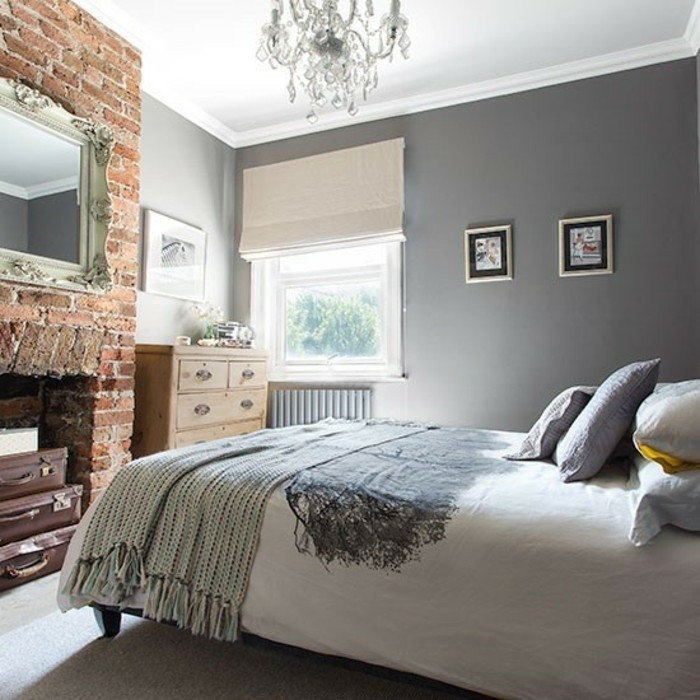 schlafzimmer ideen grau inspiration design