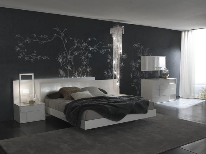 Schlafzimmer-Ideen-mit-Grau-Eine-außergewöhnliche-Еinrichtung