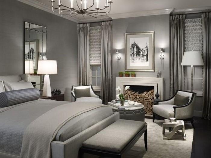 Schlafzimmer-Ideen-mit-Grau-Eine-außergewöhnliche-Gestaltung