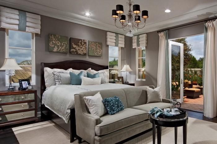 Schlafzimmer-Ideen-mit-Grau-Eine-auffällige-Ausstattung