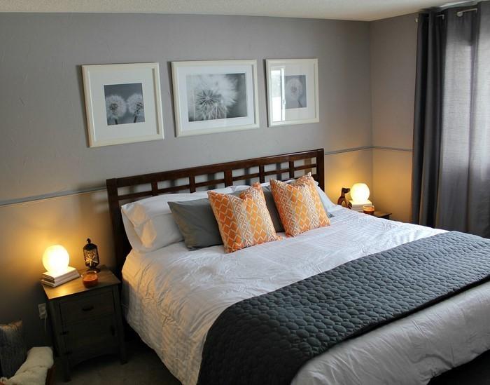 Schlafzimmer-Ideen-mit-Grau-Eine-auffällige-Ausstrahlung