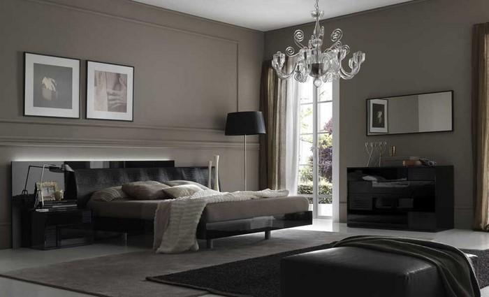 Schlafzimmer-Ideen-mit-Grau-Eine-auffällige-Gestaltung