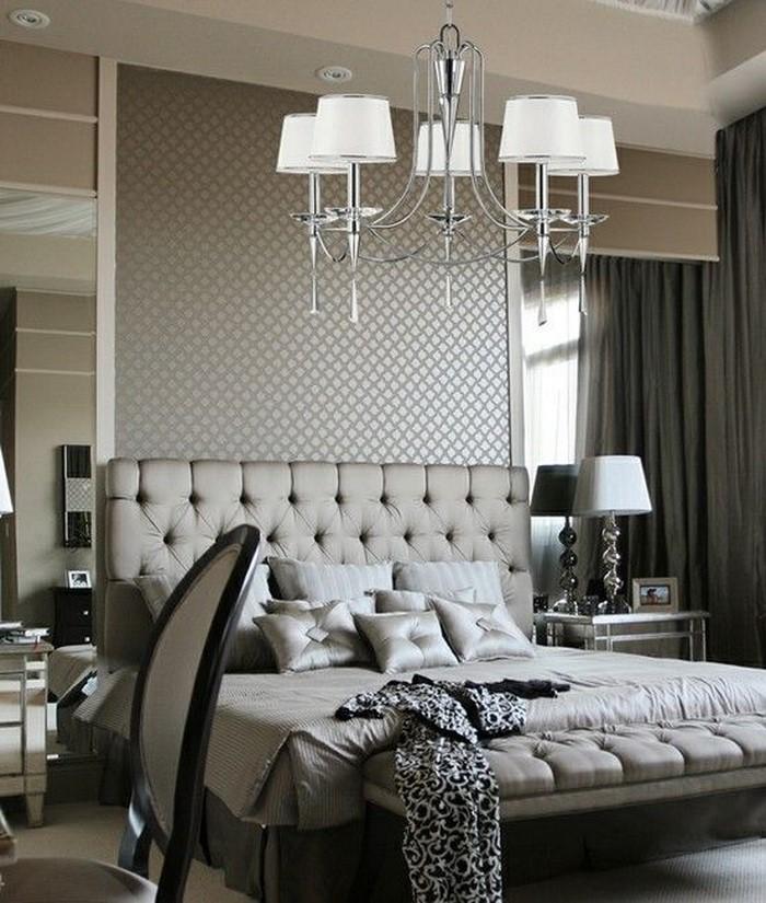 Schlafzimmer dekorieren grau ~ Schlafzimmer schlafzimmer deko grau