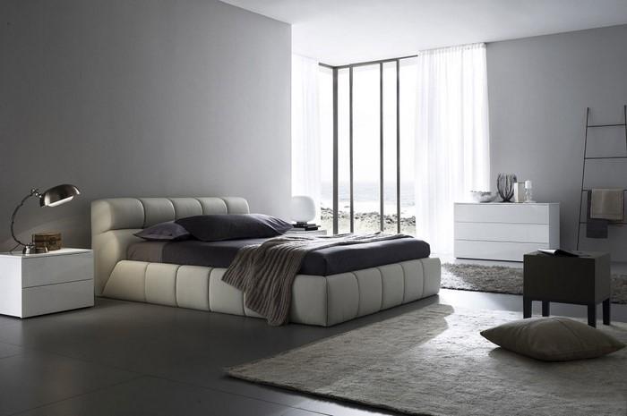 Schlafzimmer-Ideen-mit-Grau-Eine-wunderschöne-Еinrichtung