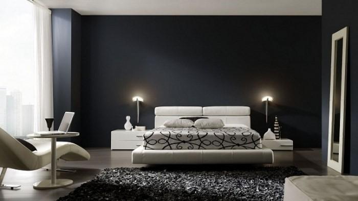 Schlafzimmer-Ideen-mit-Grau-Eine-wunderschöne-Gestaltung