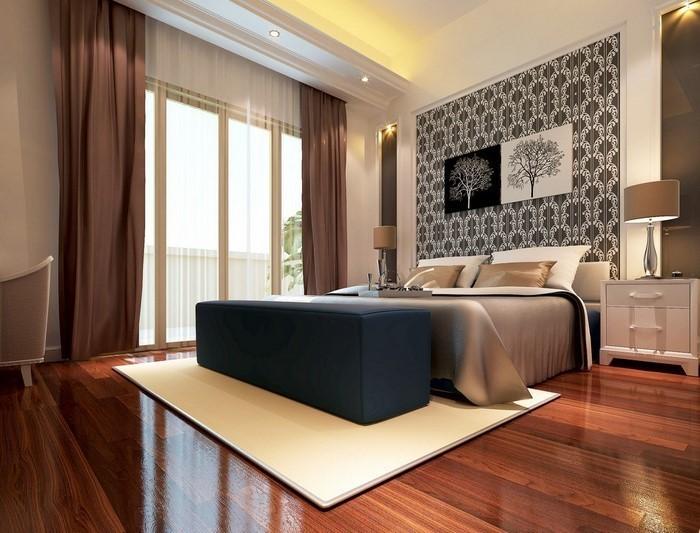 Schlafzimmer : Schlafzimmer Braun Blau Schlafzimmer Braun Or, Schlafzimmer  Design