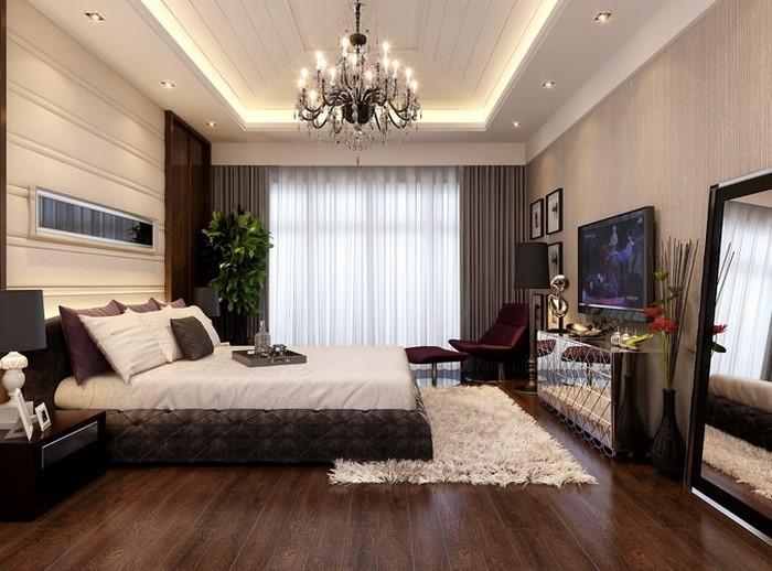 Wohnzimmer hinab ins Freie erweitern Wände mit Akustikplatten dekorativ Weiß Grau