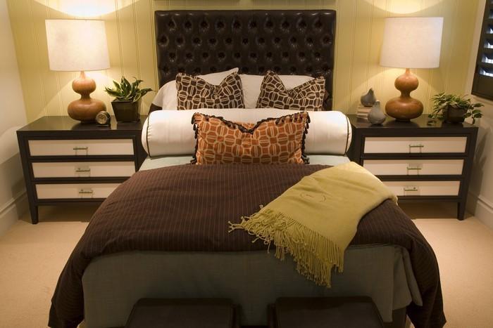 dekoration schlafzimmer braun ~ beste ideen für moderne
