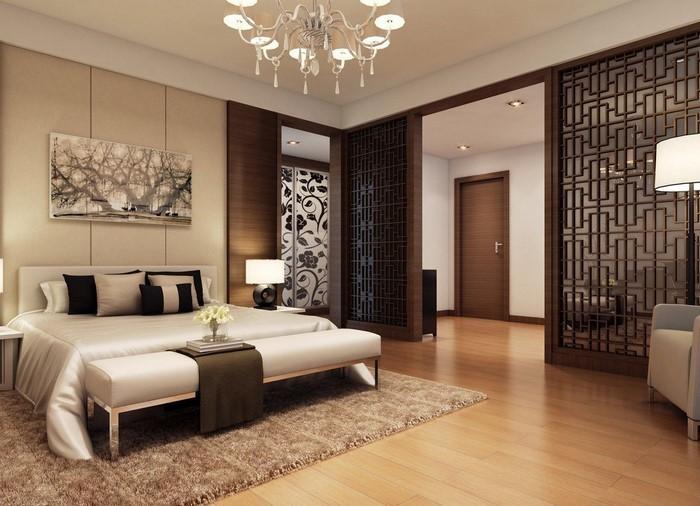 schlafzimmer braun ein tolles interieur - Wandgestaltung Schlafzimmer Braun