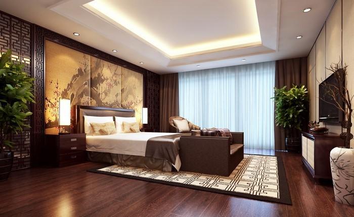 Schlafzimmer-braun-Ein-verblüffendes-Design