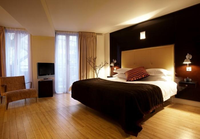Schlafzimmer-braun-Ein-wunderschönes-Design