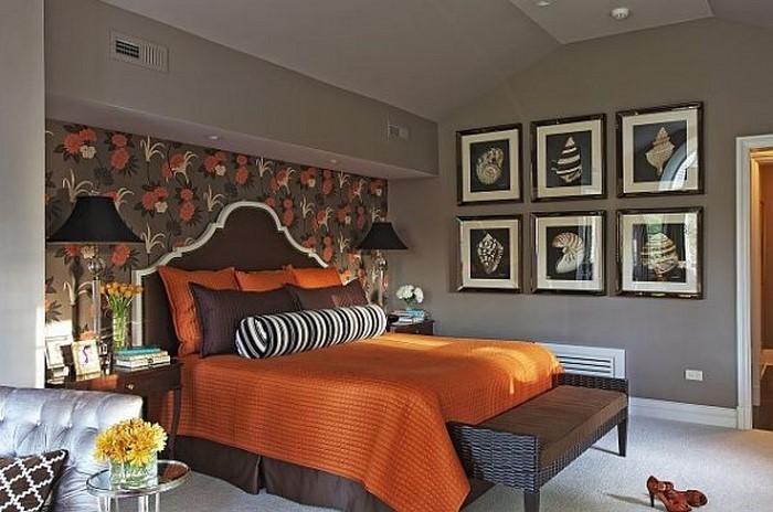 Schlafzimmer-braun-Eine–coole-Entscheidung