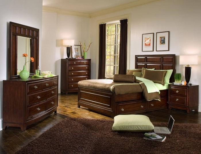 Schlafzimmer-braun-Eine-außergewöhnliche-Atmosphäre