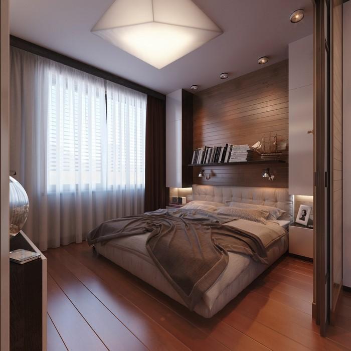 Schlafzimmer-braun-Eine-außergewöhnliche-Deko