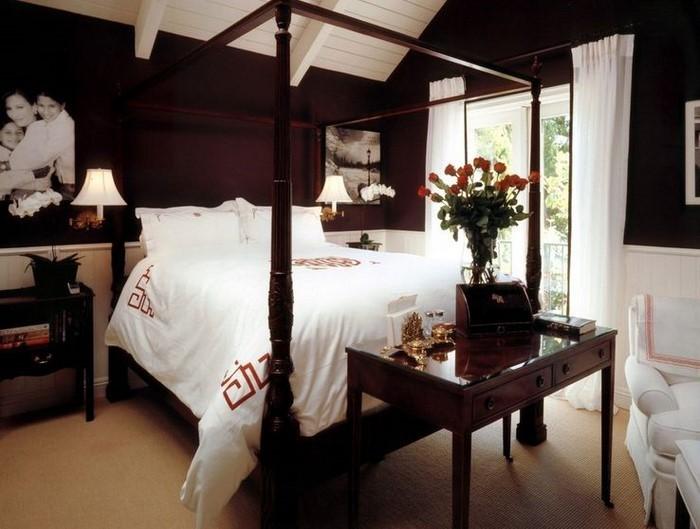 Schlafzimmer-braun-Eine-außergewöhnliche-Entscheidung