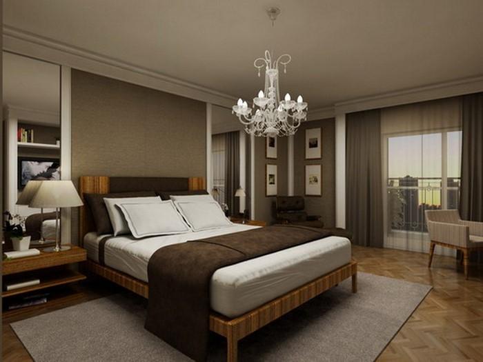 Schlafzimmer-braun-Eine-außergewöhnliche-Gestaltung