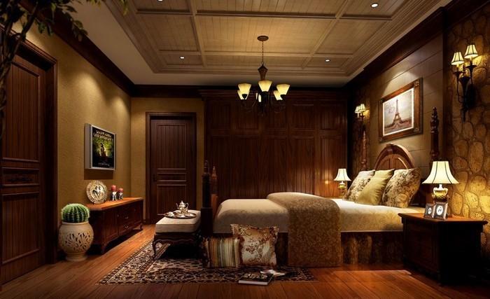 Schlafzimmer-braun-Eine-auffällige-Ausstrahlung