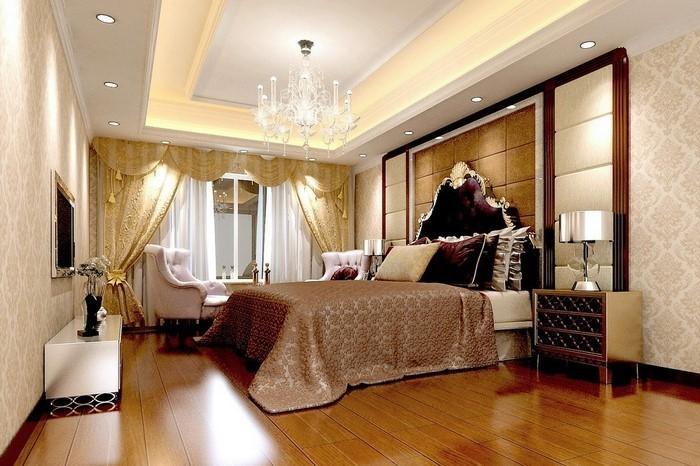 Schlafzimmer-braun-Eine-kreative-Atmosphäre