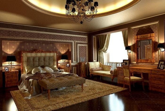 Schlafzimmer Braun Eine Moderne Atmosphäre