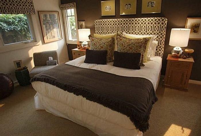 Schlafzimmer Braun Eine Moderne Deko