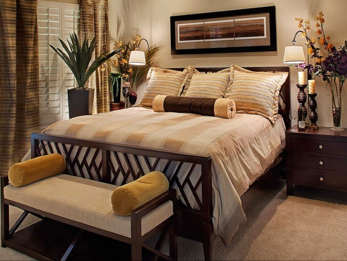 Emejing Moderne Schlafzimmer Braun Images - House Design Ideas