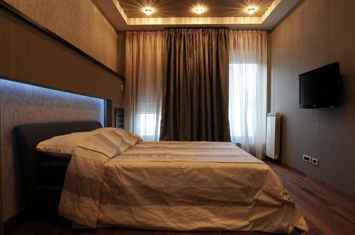 Schlafzimmer Braun Eine Moderne Gestaltung