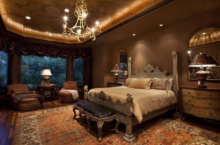 Schlafzimmer-braun-Eine-tolle-Ausstattung