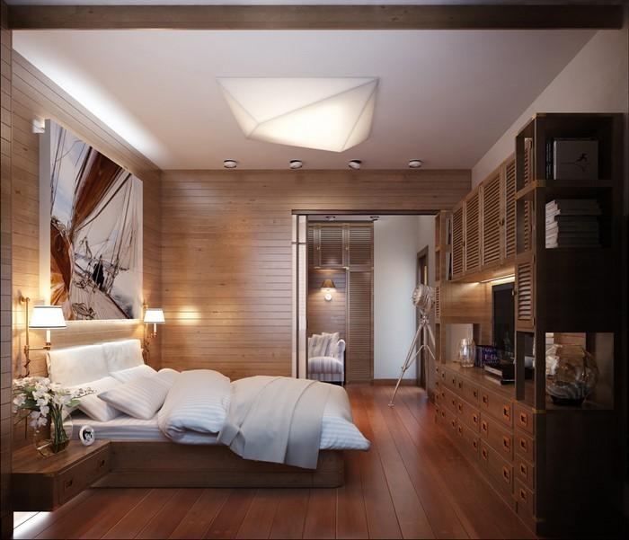 Schlafzimmer-braun-Eine-tolle-Deko