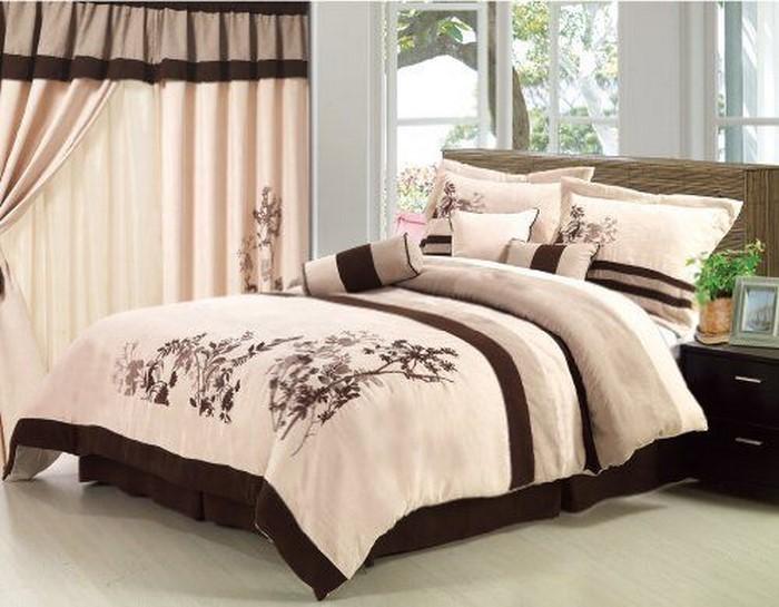 Schlafzimmer-braun-Eine-verblüffende-Atmosphäre