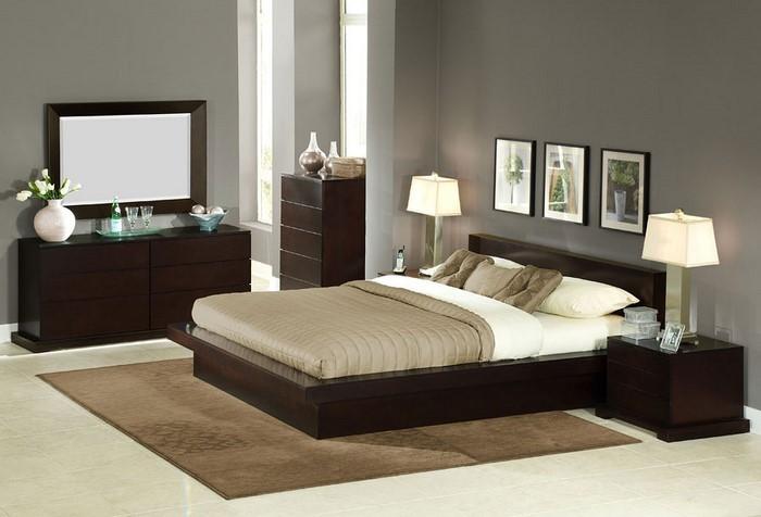 Schlafzimmer-braun-Eine-verblüffende-Deko