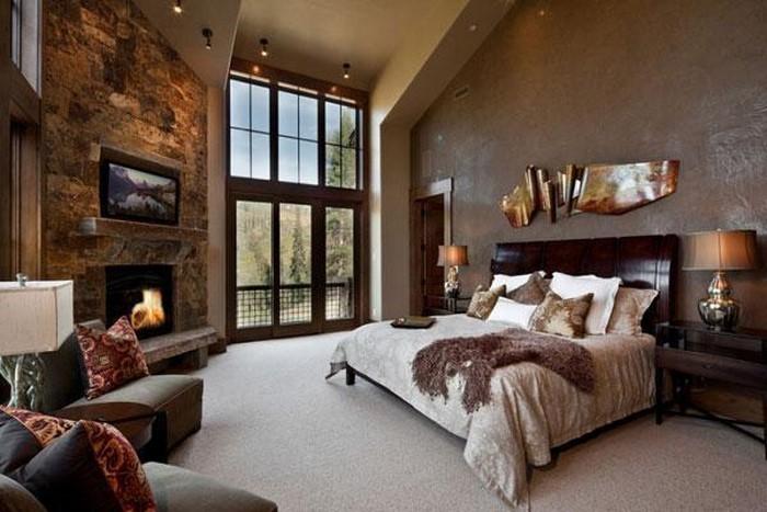 Schlafzimmer-braun-Eine-wunderschöne-Ausstattung