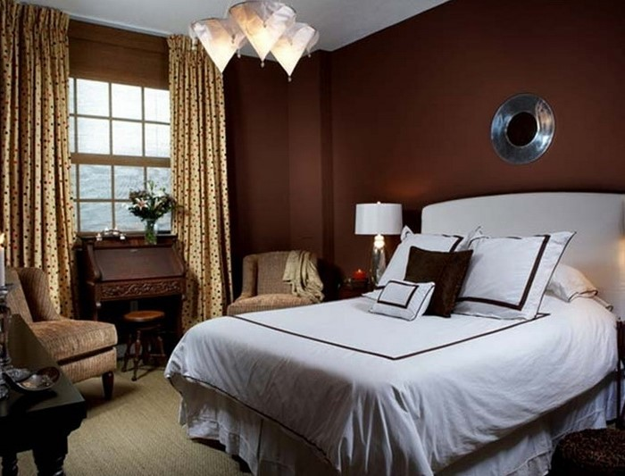 moderne schlafzimmer braun. Black Bedroom Furniture Sets. Home Design Ideas