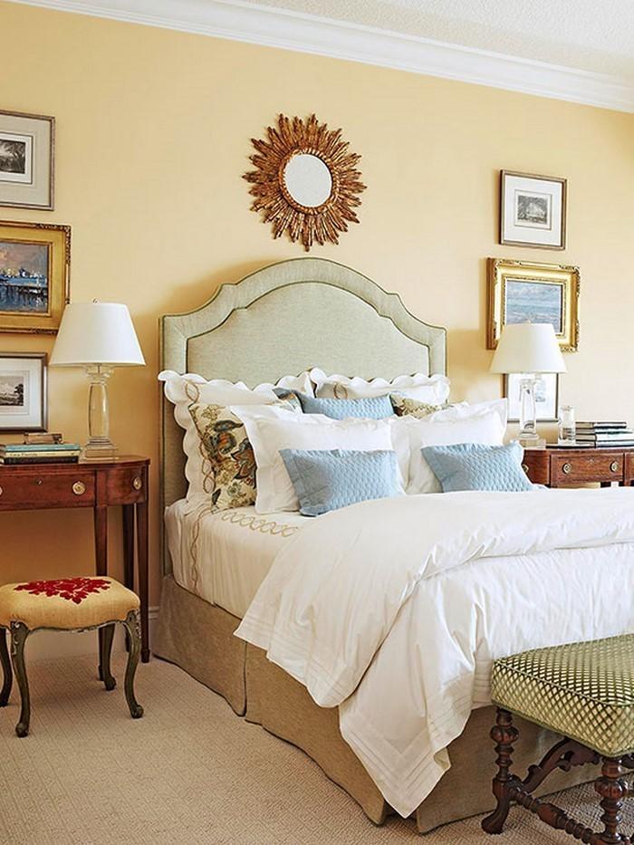 Schlafzimmer-farblich-gestalten-mit-Gelb-Ein-außergewöhnliches-Design