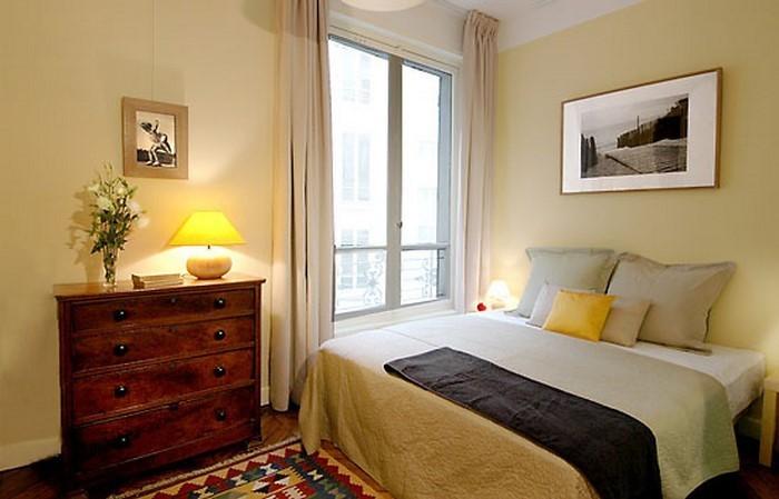 Schlafzimmer farblich gestalten 69 wohnideen mit der farbe gelb for Pastel pink and yellow bedroom