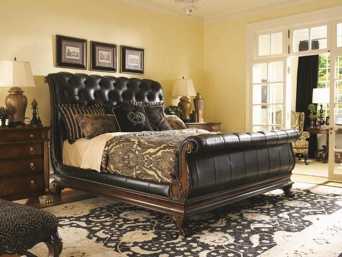 schlafzimmer wande gestalten verschiedene ideen f r die raumgestaltung inspiration. Black Bedroom Furniture Sets. Home Design Ideas