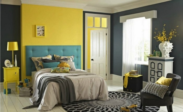 Schlafzimmer-farblich-gestalten-mit-Gelb-Ein-tolles-Interieur