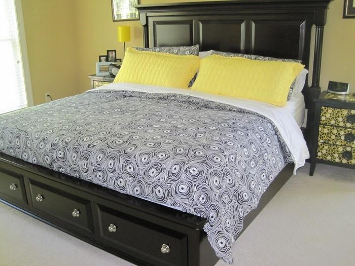 Schlafzimmer-farblich-gestalten-mit-Gelb-Ein-verblüffendes-Design