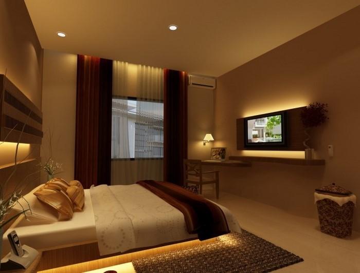 schlafzimmer w nde farblich gestalten. Black Bedroom Furniture Sets. Home Design Ideas