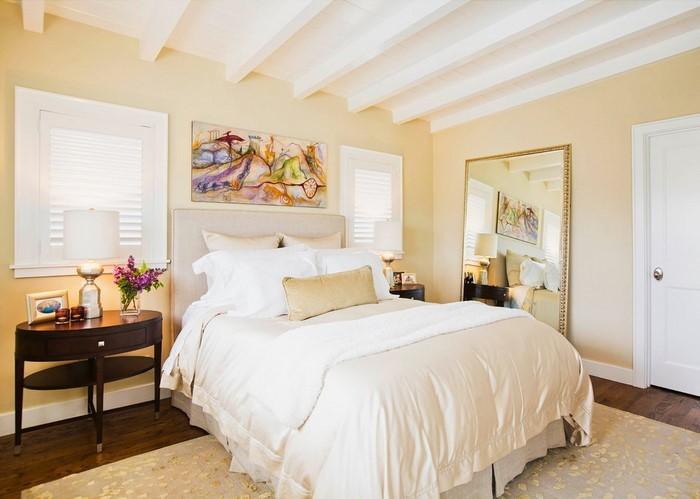 Schlafzimmer-farblich-gestalten-mit-Gelb-Eine-außergewöhnliche-Dekoration