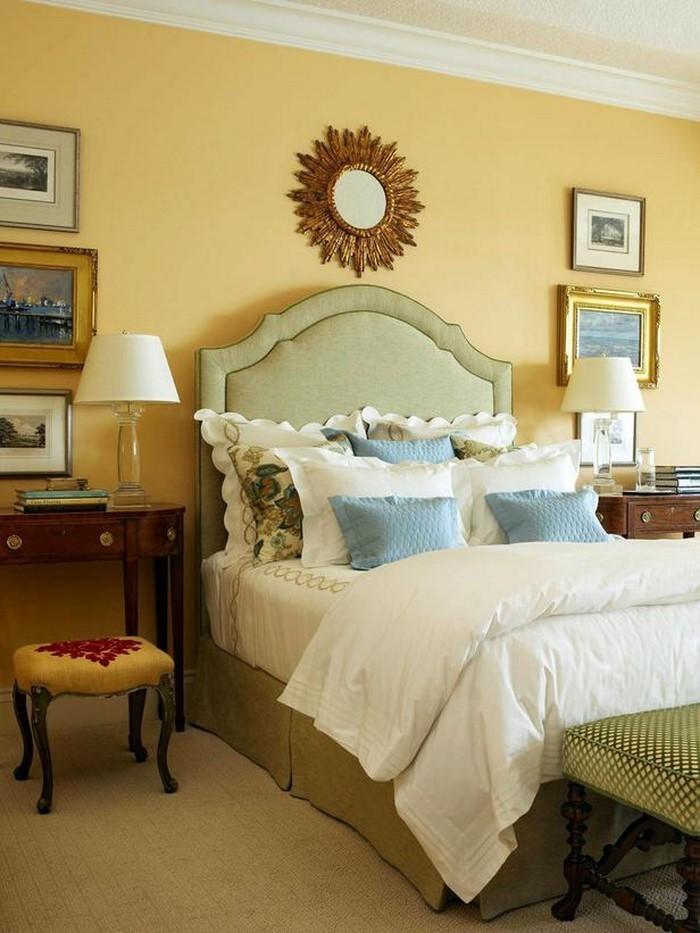 Schlafzimmer-farblich-gestalten-mit-Gelb-Eine-coole-Ausstattung